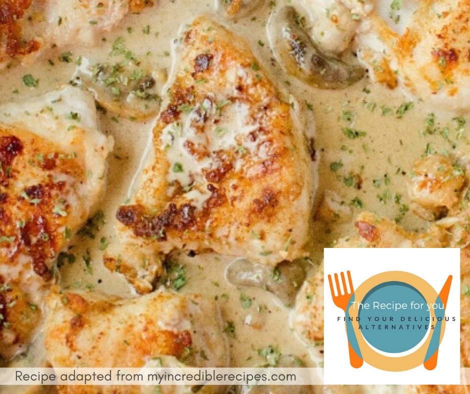 Creamy Asiago Chicken